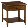 Medium Brown End Table - Square, 1 Drawer - JOFR-1031-3