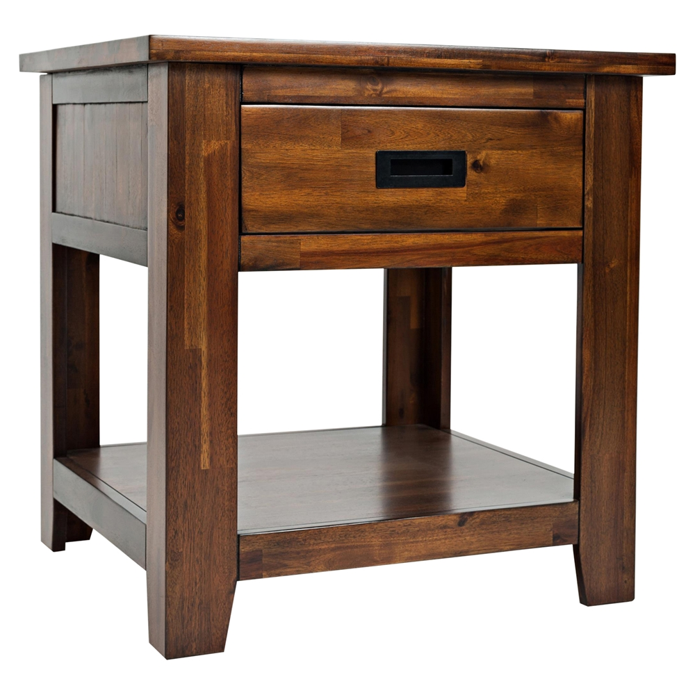 Coolidge corner square end table dcg stores - Corner tables for living room online india ...
