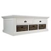 Natural Origins Cocktail Table - 2 Drawers, Chatham White - JOFR-1570-1