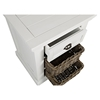 Natural Origins Chairside Table - 1 Drawer, Chatham White - JOFR-1570-7