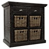Natural Origins Small Accent Chest - Wellfleet Weathered Gray - JOFR-1575-36