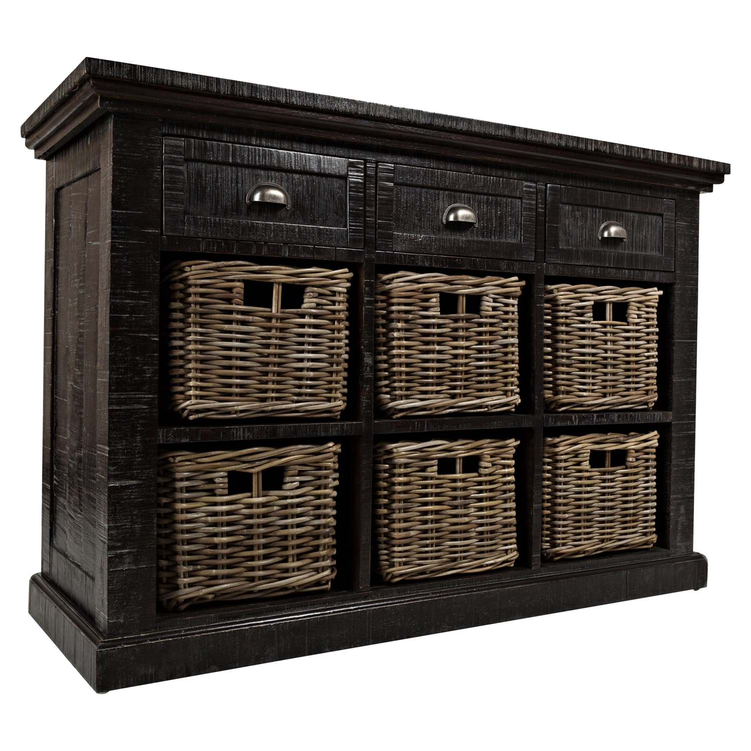 Natural Origins Large Accent Chest - Wellfleet Weathered Gray - JOFR-1575-49