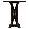 "Pacific Heights 22"" Round End Table - Chestnut - JOFR-1581-3"