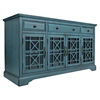 "Craftsman 60"" Media Unit - Antique Blue - JOFR-175-60"