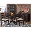 Prospect Creek Round Extension Dining Table - Dark Brown - JOFR-257-66TBKT