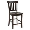 Prospect Creek 5 Pieces Dining Set - Slat Back Stool - JOFR-257-60-BS831KD-SET