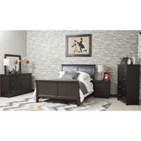 Prospect Creek Sleigh Bedroom Set