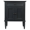 Avignon Small Accent Cabinet - Dark Charcoal - JOFR-2901