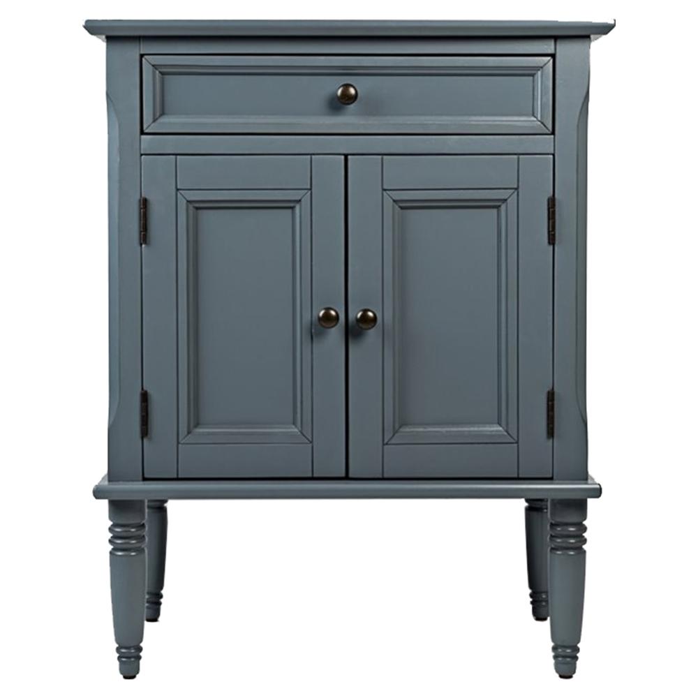Avignon Small Accent Cabinet Cornflower Blue Dcg Stores