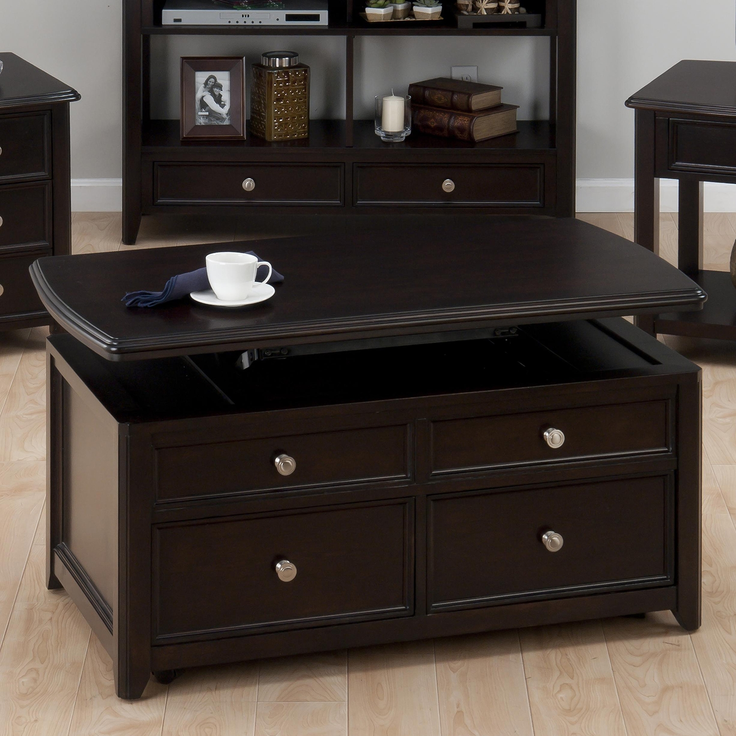 Coronado Cocktail Table - Lift Top, Espresso - JOFR-319-5