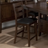 Taylor 7 Pieces Counter Height Storage Dining Set - Cherry - JOFR-337-54TBKT-BS923KD-SET