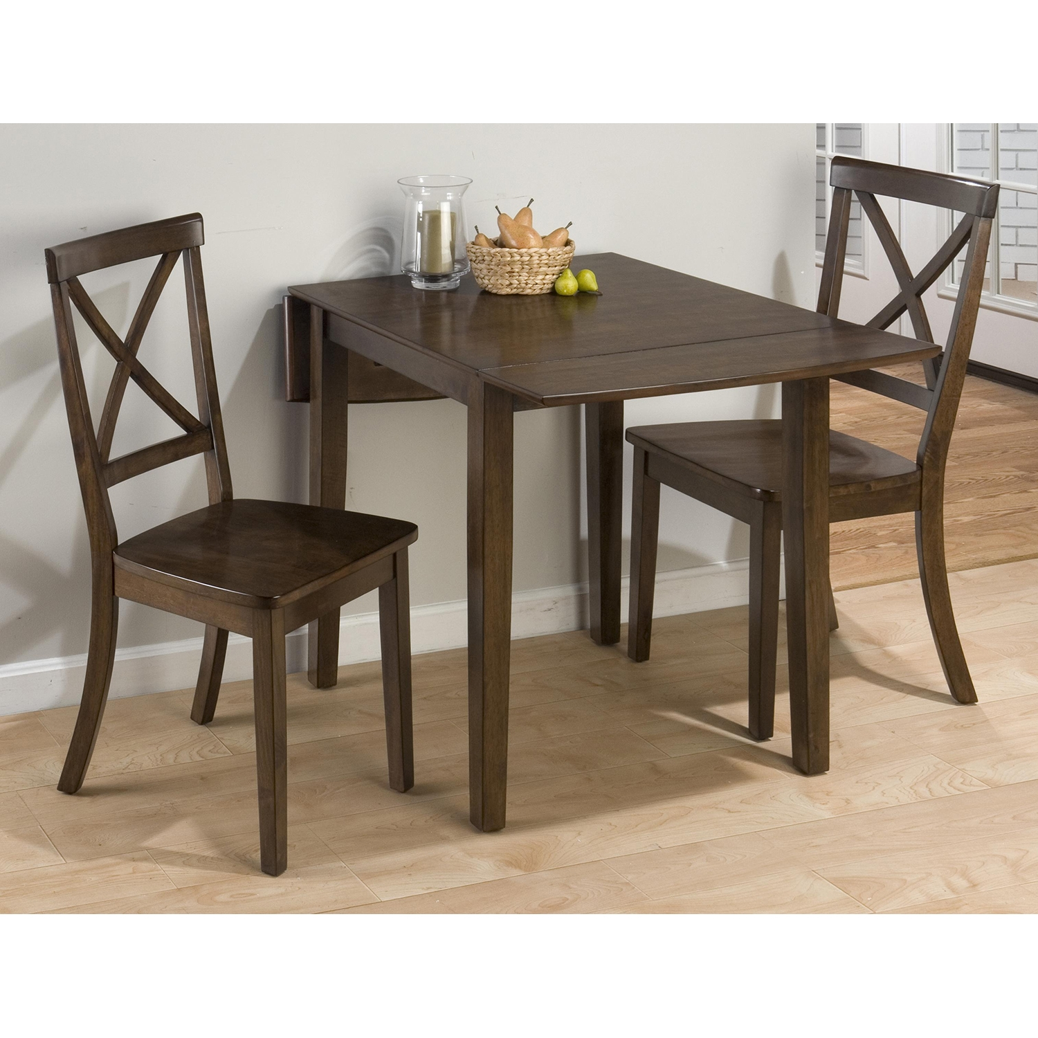 Richmond 3 Pieces Dining Set - Cherry - JOFR-342-48-915KD-SET