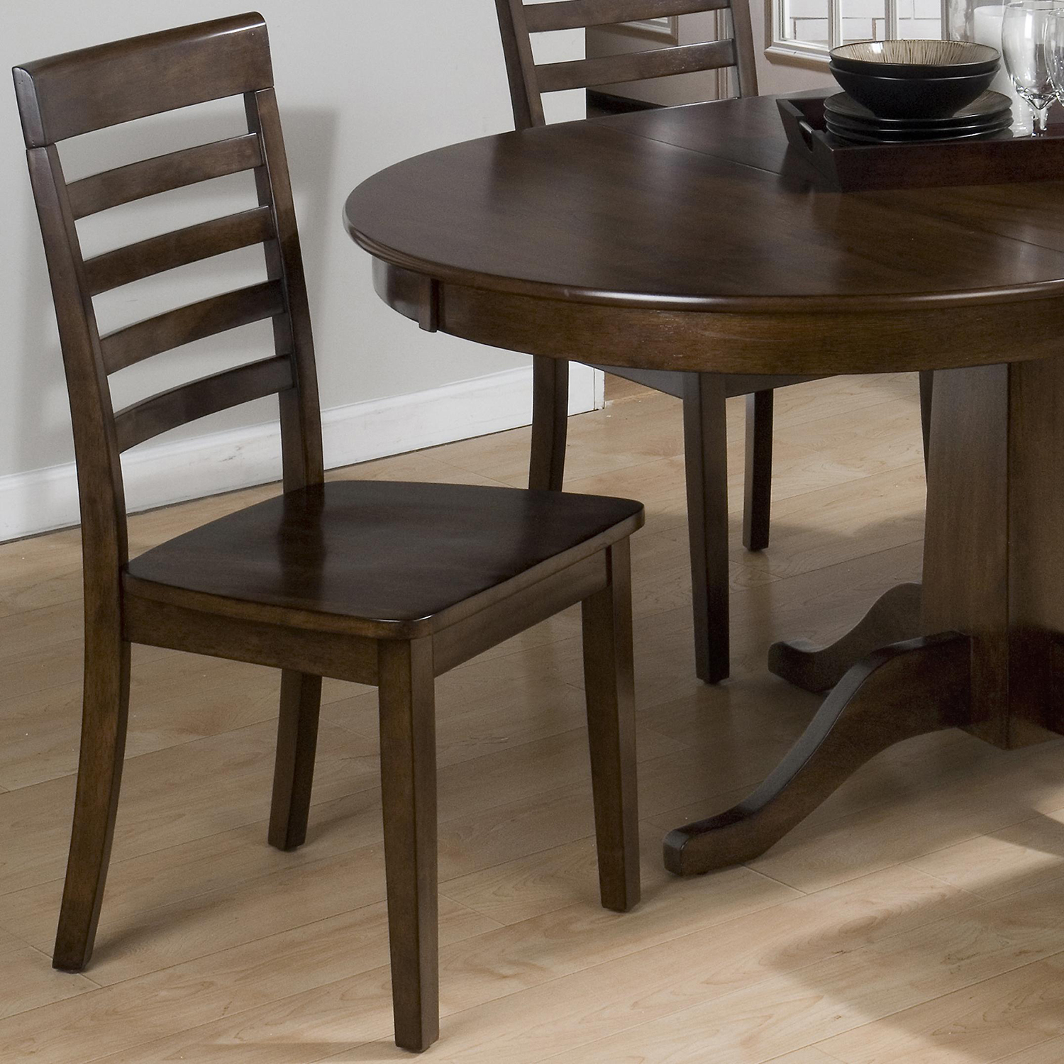 Richmond 5 Pieces Dining Set - Cherry - JOFR-342-60TBKT-912KD-SET