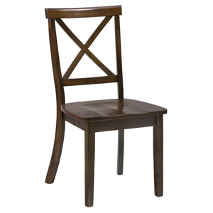 Richmond X Back Dining Chair - Cherry