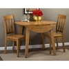 Simplicity Round Drop Leaf Table - Honey - JOFR-352-28