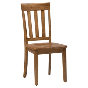Simplicity Slat Back Chair - Honey
