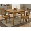 Simplicity Square Dining Table - Honey - JOFR-352-42