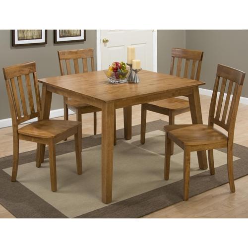 Simplicity 5 Pieces Dining Set Square