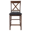 Olsen X Back Pub Stool - Oak - JOFR-439-BS103KD