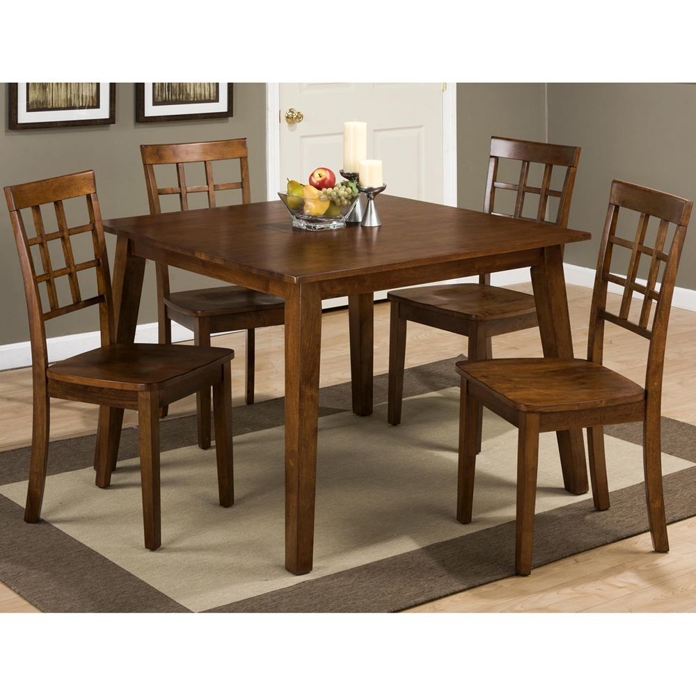 Simplicity Square Dining Table Caramel