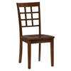 Simplicity Grid Back Chair - Caramel - JOFR-452-939KD