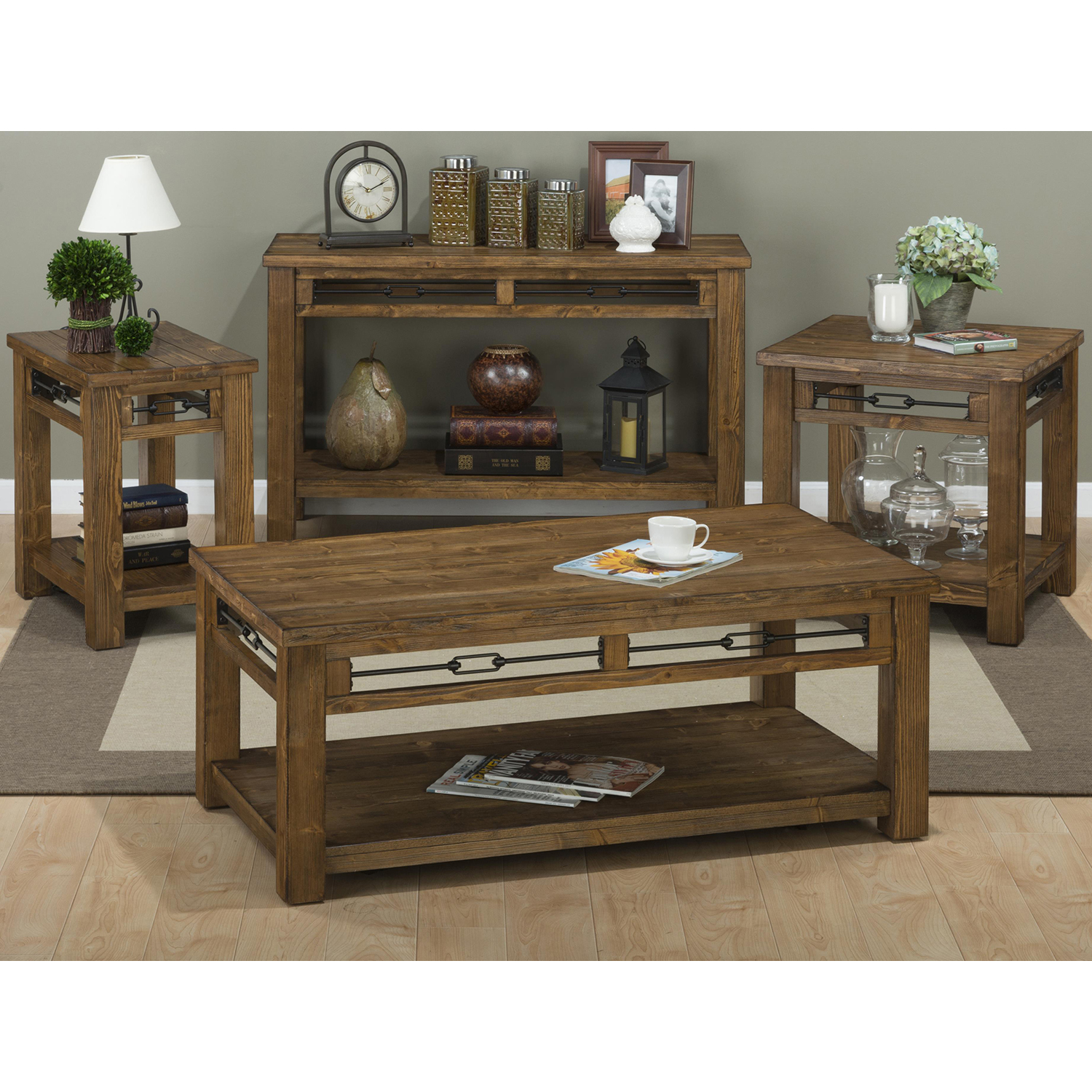 San Marcos Square End Table - JOFR-463-3