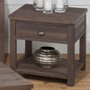 Falmouth End Table - Weathered Gray - JOFR-535-3