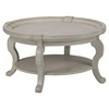 Sebastian Round Cocktail Table - Creamy - JOFR-540-2