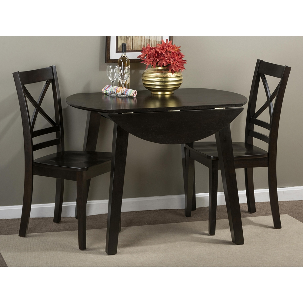 simplicity 5 pieces dining set x back chair round table