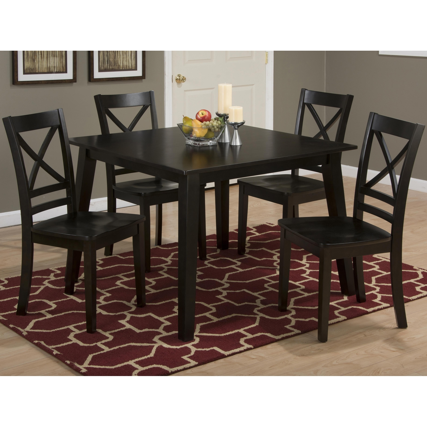 Simplicity Square Dining Table - Espresso - JOFR-552-42
