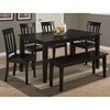Simplicity Rectangle Dining Table - Espresso - JOFR-552-60