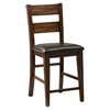 Cooke County Ladderback Bar Stool - JOFR-581-BS478KD