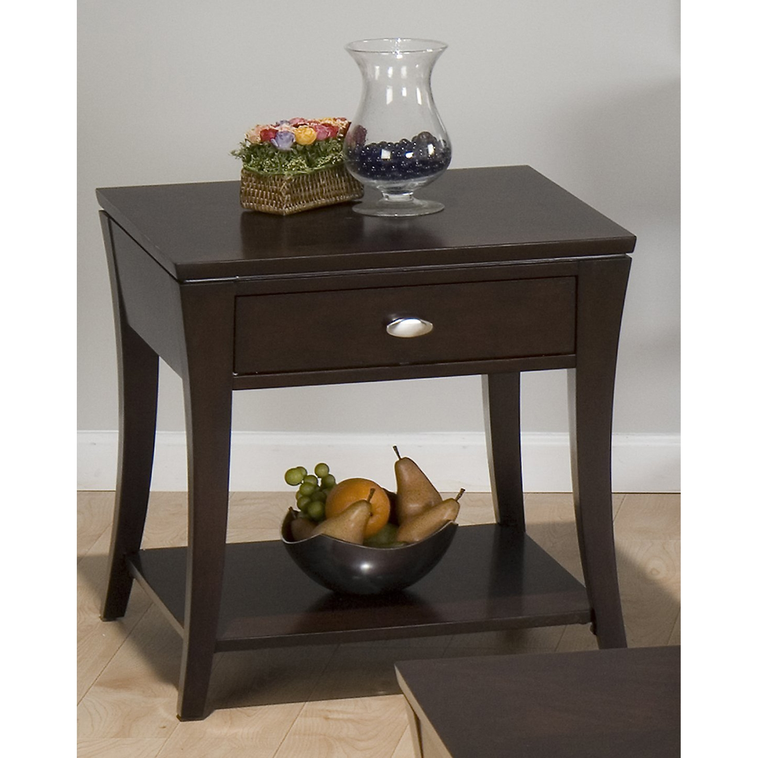 Manhattan End Table - Espresso - JOFR-629-3