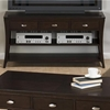 Manhattan Sofa/Media Table - Espresso - JOFR-629-4