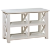 Madaket Rectangular Sofa/Media Table - White - JOFR-649-4