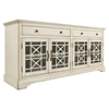 "Craftsman 70"" Media Unit - Antique Cream - JOFR-675-9"