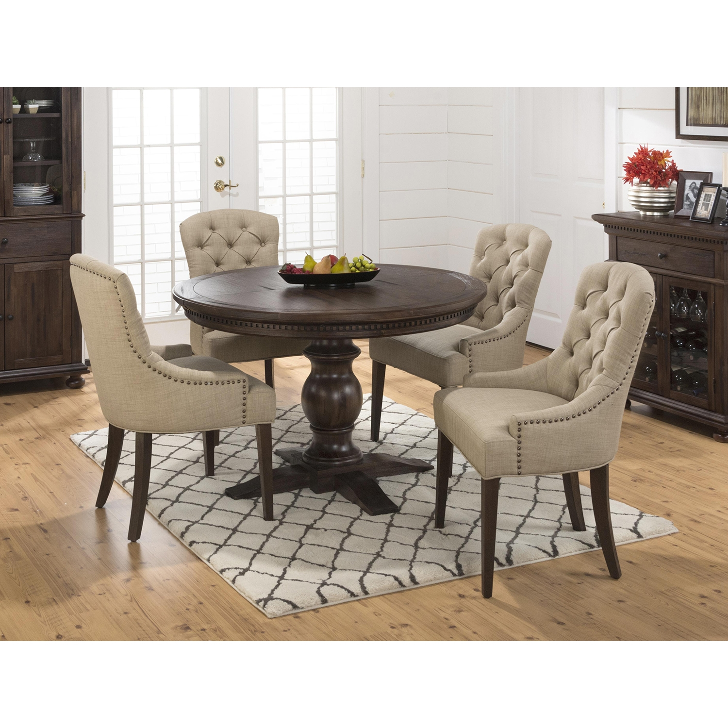 Geneva Hills Tufted Side Chair - JOFR-678-212KD