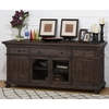 "Geneva Hills 70"" Media Unit - Rustic Brown - JOFR-679-70"