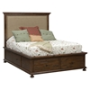Geneva Hills Storage Bed - Upholstered Headboard - JOFR-680-KT-BED