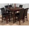 Baroque Counter Height Dining Table - Mosaic Inlay, Brown - JOFR-697-50