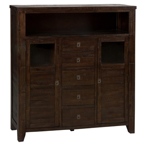 Kona Grove 5 Drawers Cabinet - Chocolate