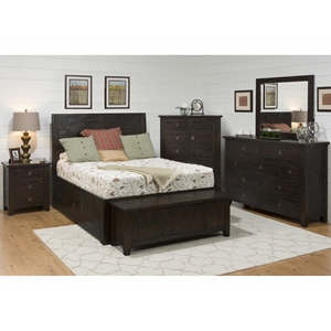 Kona Grove Storage Bedroom Set - Chocolate