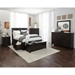 Kona Grove Storage Bed - Chocolate - JOFR-707-KT-BED
