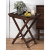 Urban Lodge Folding Accent Tray - Brown - JOFR-730-11