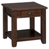 Urban Lodge End Table - Brown - JOFR-731-3