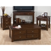 Urban Lodge Chairside Table - Brown - JOFR-731-8