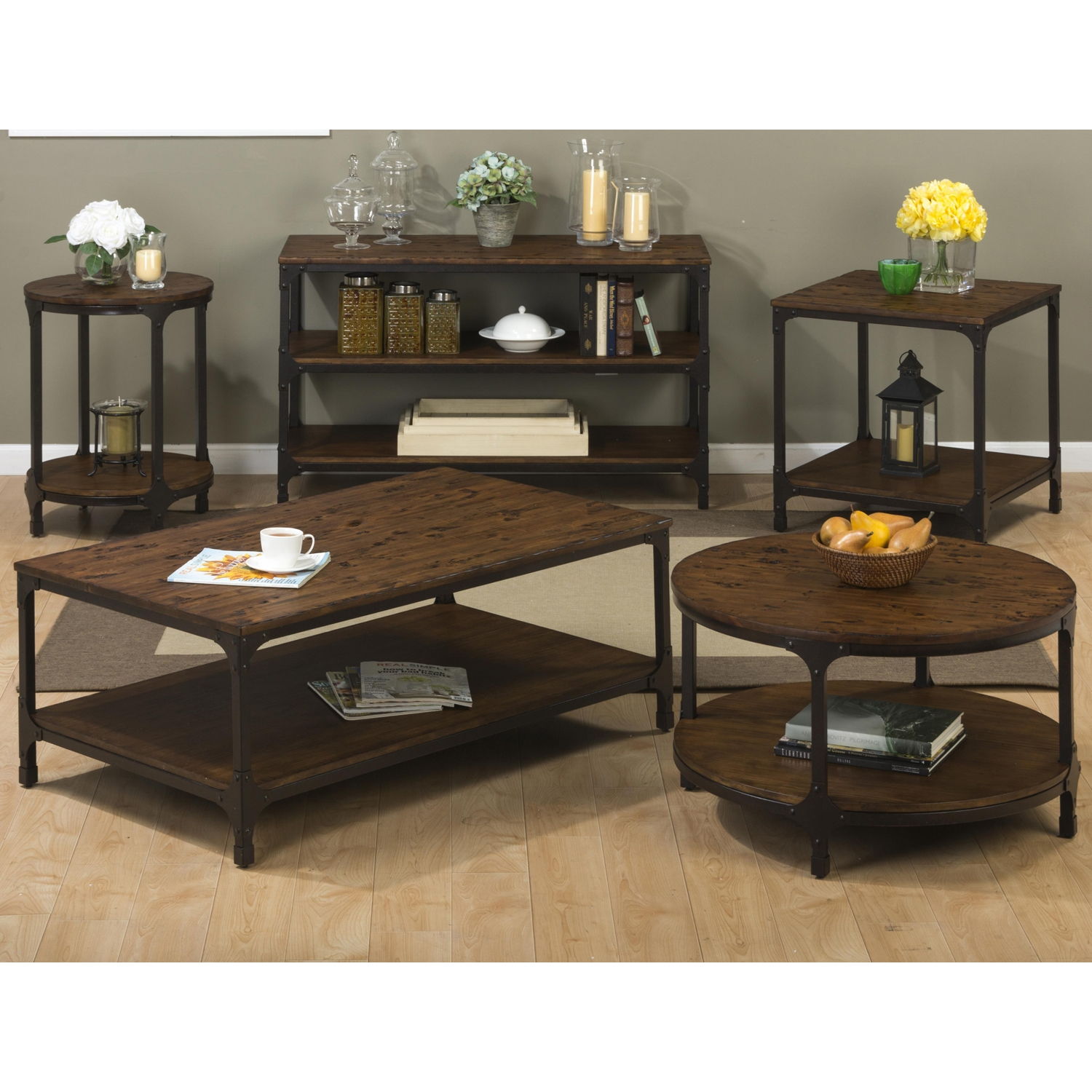 Urban Nature Rectangle Cocktail Table - JOFR-785-1