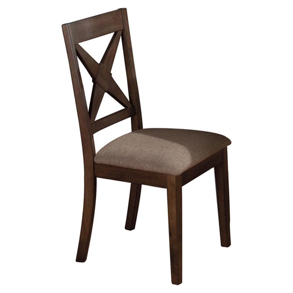 Tucson nova back dining chair brown dcg stores