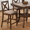 Tucson Nova X Back Stools - Brown - JOFR-794-BS221KD