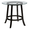 "Aaron Pub 42"" Round Counter Height Table - Glass Top - JOFR-815-42BG42RDKT"